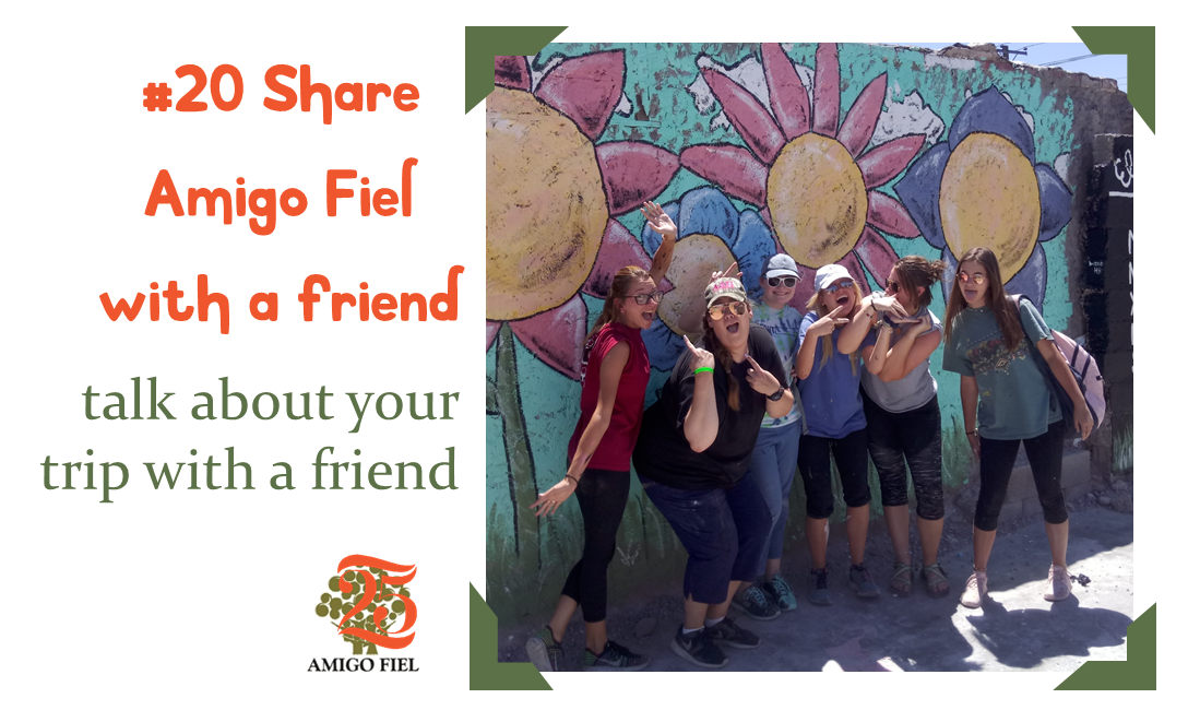 25 of 25 ways: share your trip with a friend